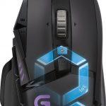 Logitech G502 Mouse da Gioco Proteus Spectrum, Regolazione RGB, 11 Pulsanti Programmabili, Nero