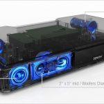 Denon DHT-T110BKE2GB Sistema di diffusione sonora per TV, Nero