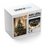 SnowEra Catena Luminosa a Lampadina da 50 m con 400 LED