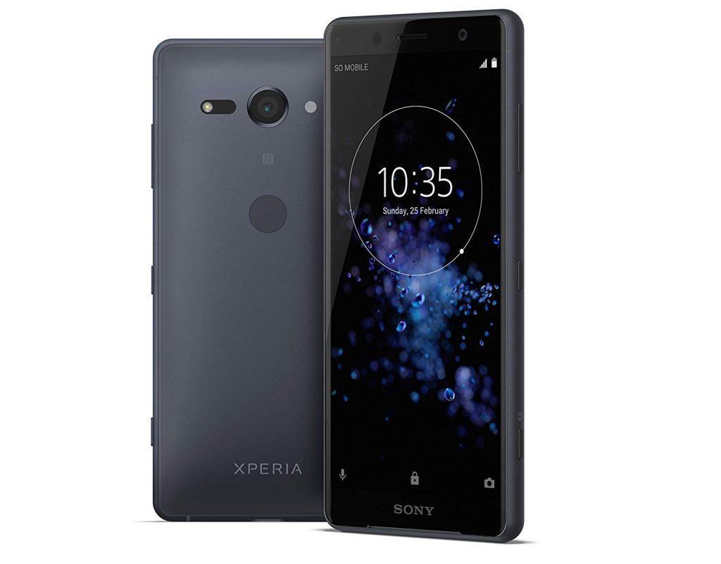 "Sony Xperia XZ2 Compact Smartphone, Display 5.0"", 64 GB, Mono Sim, Nero [Italia]"