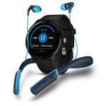Garmin Vivoactive 3 Music Smartwatch GPS con Profili Sport, Sensore Cardio, Musica Integrata e Pagamento Contactless, Nero + Skullcandy Method Sport Cuffie