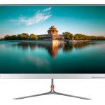 """Lenovo 65CEGAC1IT Monitor L27q-10 da 27"""" WLED QHD, Formato 16:9, Risoluzione 2560 x 1440, Angolo di Visuale 178°/178°, Tempo di Risposta 4ms, Refresh Rate"""