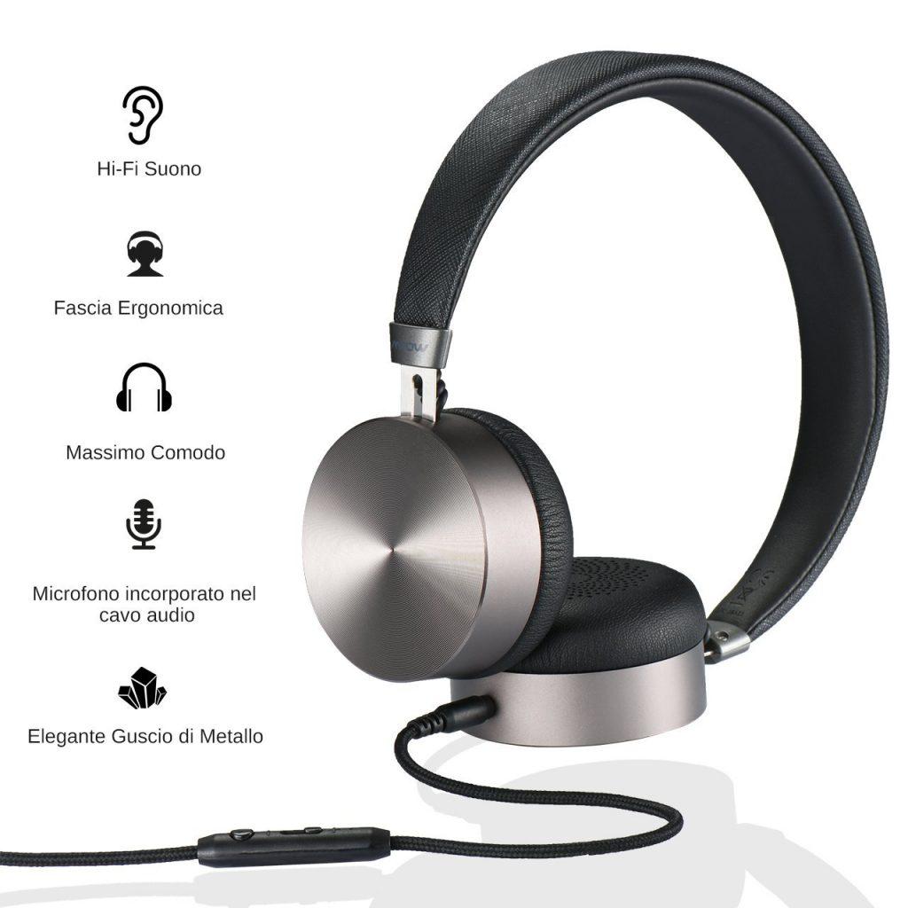 🎧Cuffie On-Ear con Microfono Incorporato - PlanetDiscount d8a665e3973c