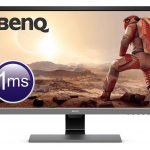 "BenQ EL2870U Monitor Gaming LED UHD-4K, 28"", 1 ms, HDR Eye-Care, Altoparlanti, HDMI/DP, Grigio Metallizzato"