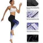 Le World Donna Pantaloni da Yoga, Pantaloni da Corsa Athleisure Capri Pantaloni da Ginnastica