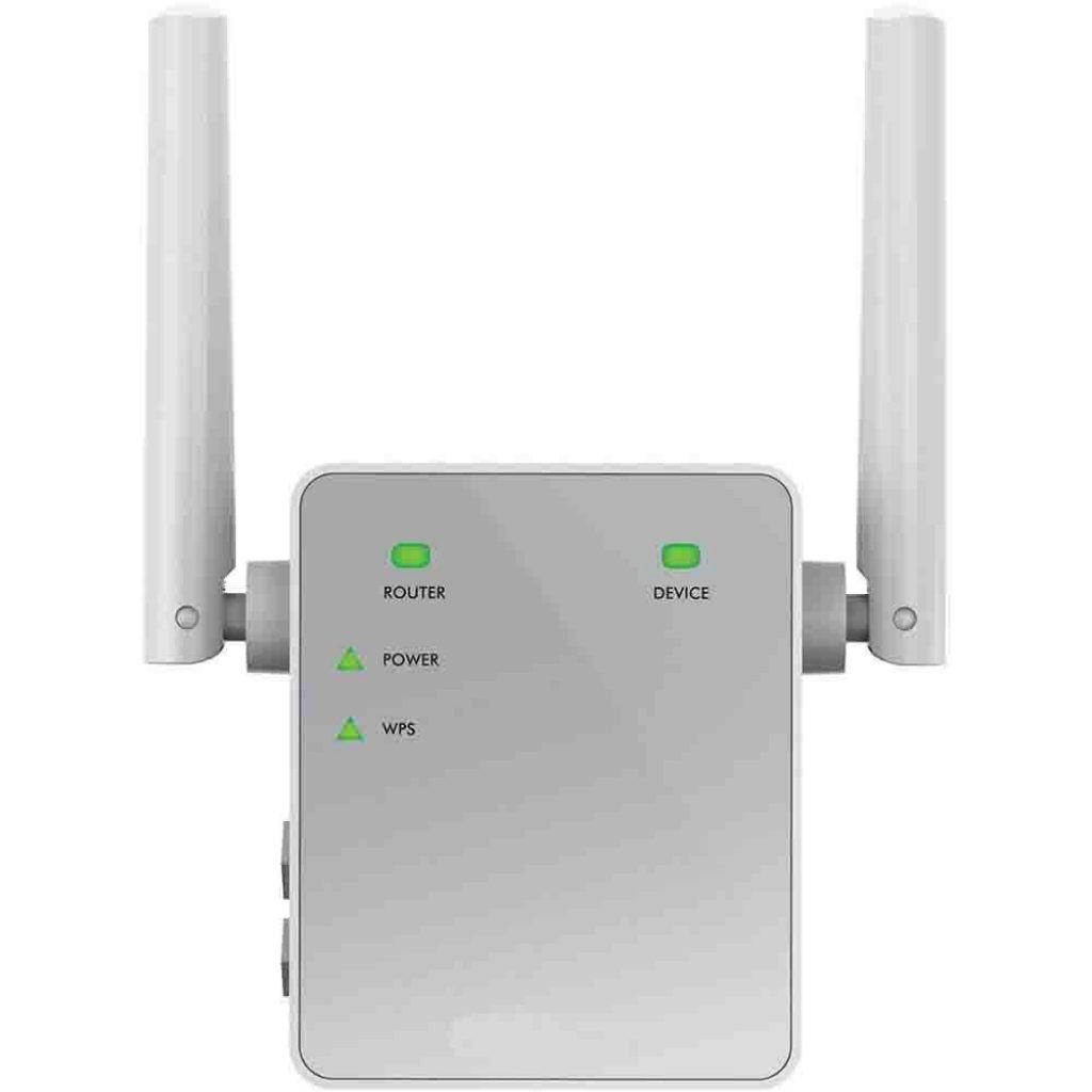 Netgear Ripetitore WiFi Wireless, WiFi Extender e Access Point Basic, Potenzia la copertura WiFi, Compatibile con tutti i modem router ADSL e Fibra