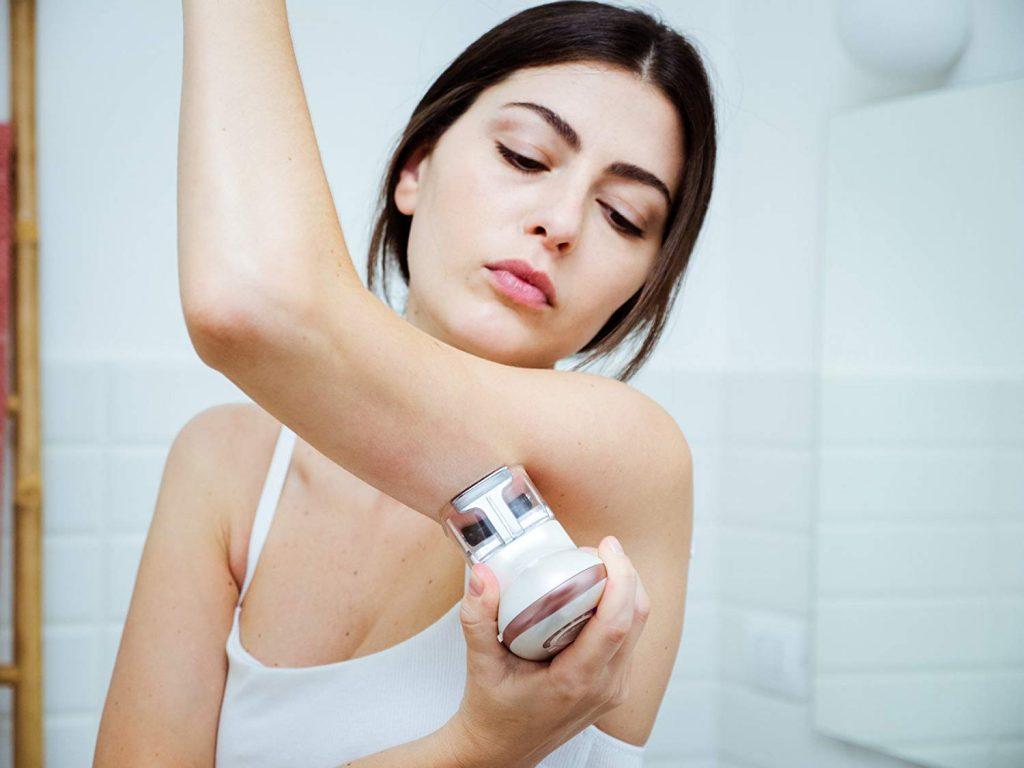 HoMedics Smoothee Massaggiatore Anticellulite, Vacuum e Elettrostimolazione Muscolare, Riduce l'Adiposità Localizzata e le Imperfezioni della Cellulite, Azione Linfodrenante