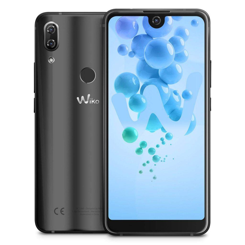 Wiko View 2 Pro Smartphone, 64 GB, Anthracite [Italia]