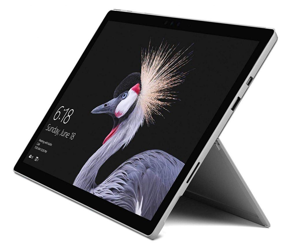 Microsoft Surface Pro Tablet, Processore Core i5, 8 GB di RAM, SSD da 256 GB, Grigio