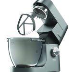 Kenwood KVL8300S Chef Titanium System Pro Impastatrice Planetaria, 1700 W, Alluminio, Argento