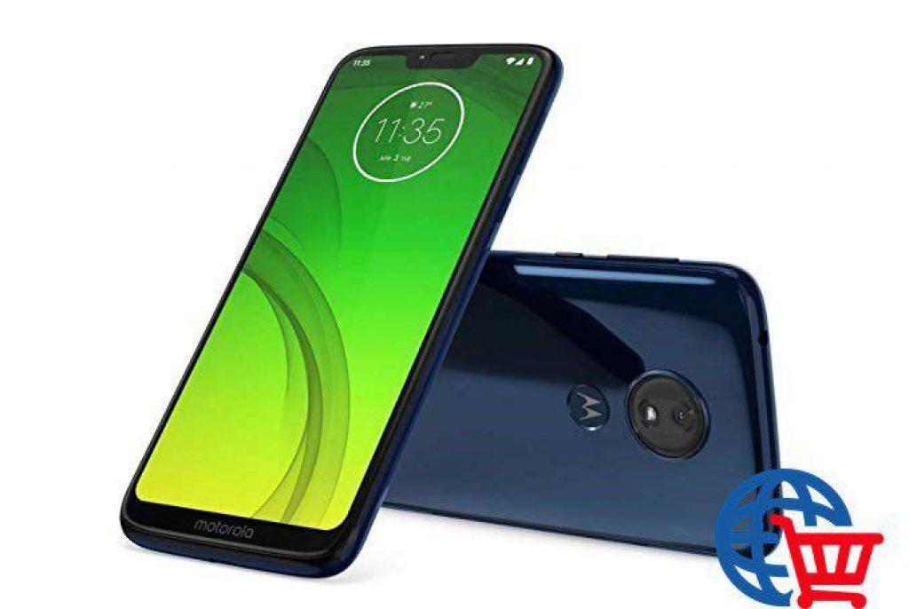 "Motorola Moto G7 Power, Smartphone Android 9.0, Display 6,2"", Dual Camera da 12Mp, 4/64 GB, Dual Sim, Ceramic Black [versione Italia]"