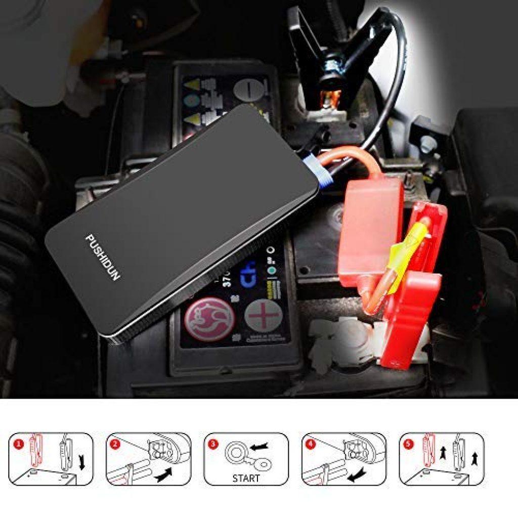 avviatore, jump starter, batteria, emergenza, sos