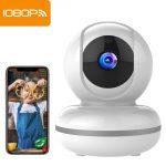 Mibao 1080P Telecamera Sorveglianza Wifi Camera IP Wireless Interno con Visione Notturna, Rilevamento Movimento, Allarme via APP, Pet/Elderly/Baby Monitor