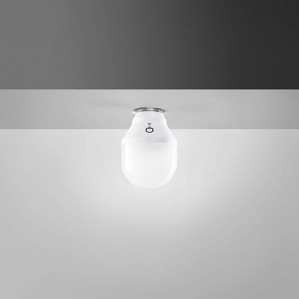 LIFX Mini White (E27) Lampadina a LED Wi-Fi Smart, regolabile, bianco caldo, non richiede un hub, funziona con Alexa, Apple HomeKit e Google Assistant