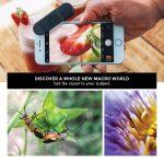BLACK EYE Macro G4 15x macrobiettivo, ottimizzato per Gli Smartphone più recenti (Fissaggio Universale a Clip, Rivestimento antiriflesso su Entrambi i Lati