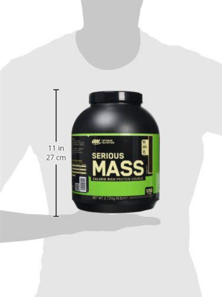 Optimum Nutrition Serious Mass - Proteine in polvere per aumentare la massa muscolare - gainer - gusto Cioccolato - 2.73kg