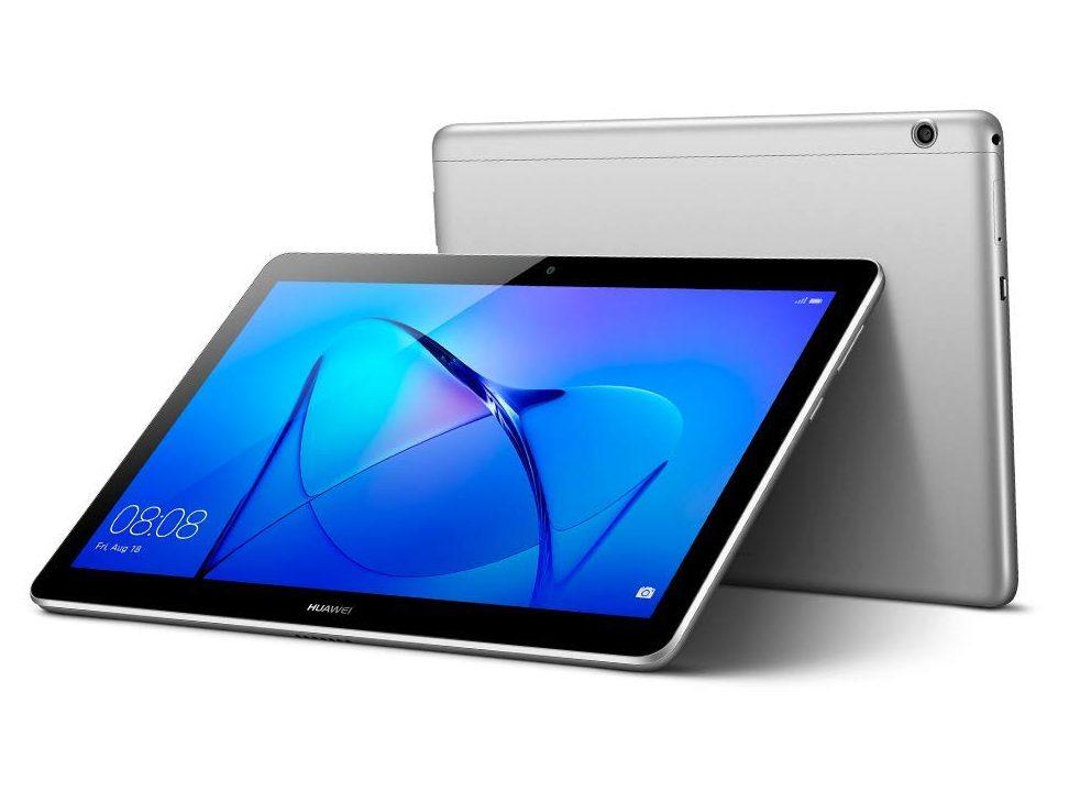 "Huawei Mediapad T3 Tablet WiFi, CPU Quad-Core A53, 2 GB RAM, 16 GB, Display da 10"", Grigio (Space Gray)"
