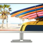 "HP 24FW Monitor 24"", IPS FHD, 1920 x 1080 1080p, 5 ms, AMD FreeSync, Inclinabile, Argento"