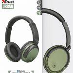 Trust Urban Kodo - Cuffie Wireless Bluetooth Verde