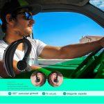 Coio Auricolare Bluetooth 4.1 Senza Fili Cuffia Bluetooth,IPX6 Impermeabile Wireless Cuffie,in Ear Mani Libere Senza Fili con Mic Stereo Compatibile con iPhone,Samsung,Huawei,LG,HTC,cellphones