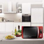 Candy CMXG20DR Microonde con grill e app Cook-in, 20 litri, colore Rosso [Classe di efficienza energetica A]
