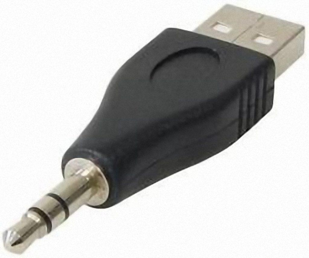Adattatore USB – da ingresso A a jack stereo 3,5 mm