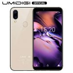 UMIDIGI A3 (2019), Offerte Cellulari 5.5 pollici, Triplo Slot 2 Nano SIMs+1 MicroSD, Android 8.1 Oreo Smartphone Offerta del Giorno, Quad-Core 2GB+16GB, Batteria 3300mAh, Fotocamera 12MP+5MP - Oro