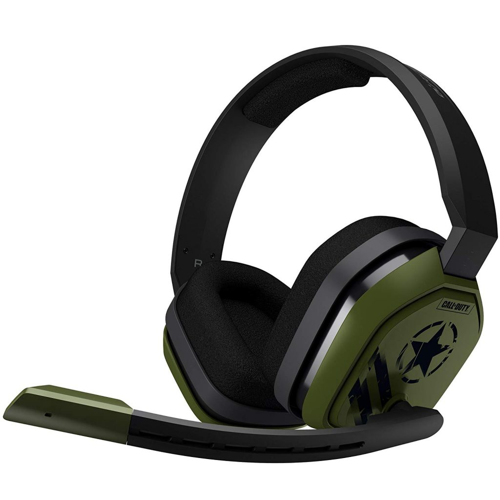 ASTRO Gaming A10 Cuffia con Microfono e Cavo Call of Duty Edition Compatibile con PlayStation 4, Xbox One, PC, Mac, Verde/Nero