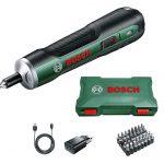 Bosch Home and Garden 06039C6000 PushDrive Cacciavite, Batteria da 1.5 Ah, Numero Vuoto 360 Giri/min, in Custodia, 3.6 V