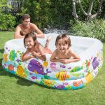 Intex Piscina Acquario, Multicolore, 159 x 159 x 50 cm