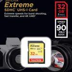 SanDisk Extreme Scheda di Memoria, SDHC da 32 GB, fino a 90 MB/sec, Classe 10, U3, V30
