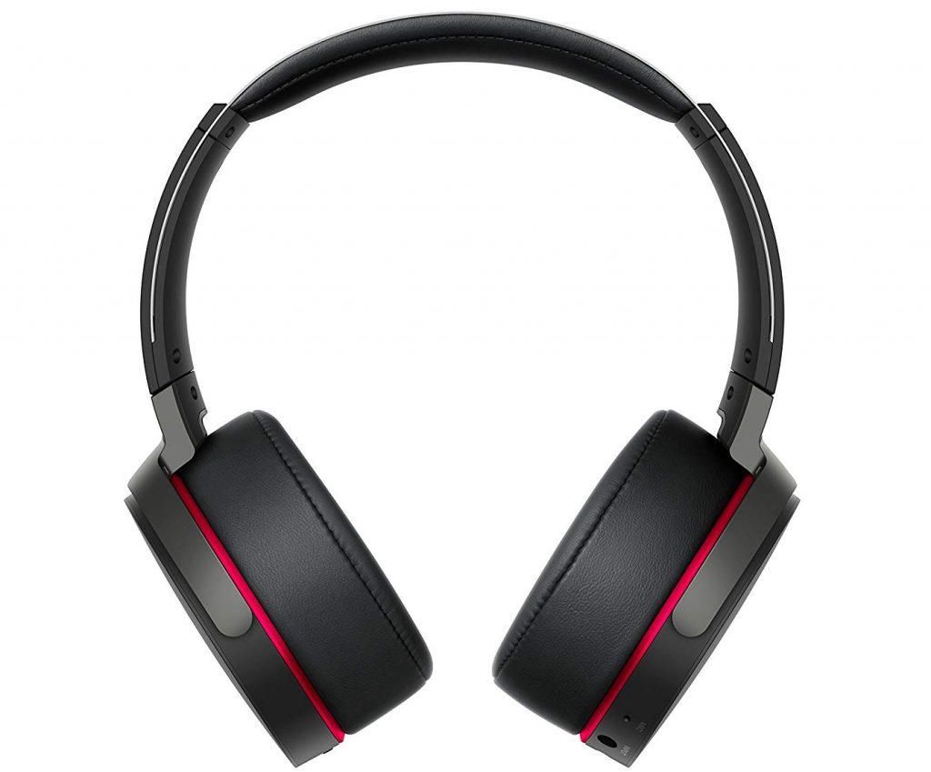 Sony MDR-XB950B1 Cuffie Wireless, Bluetooth e NFC, Extra Bass, Nero