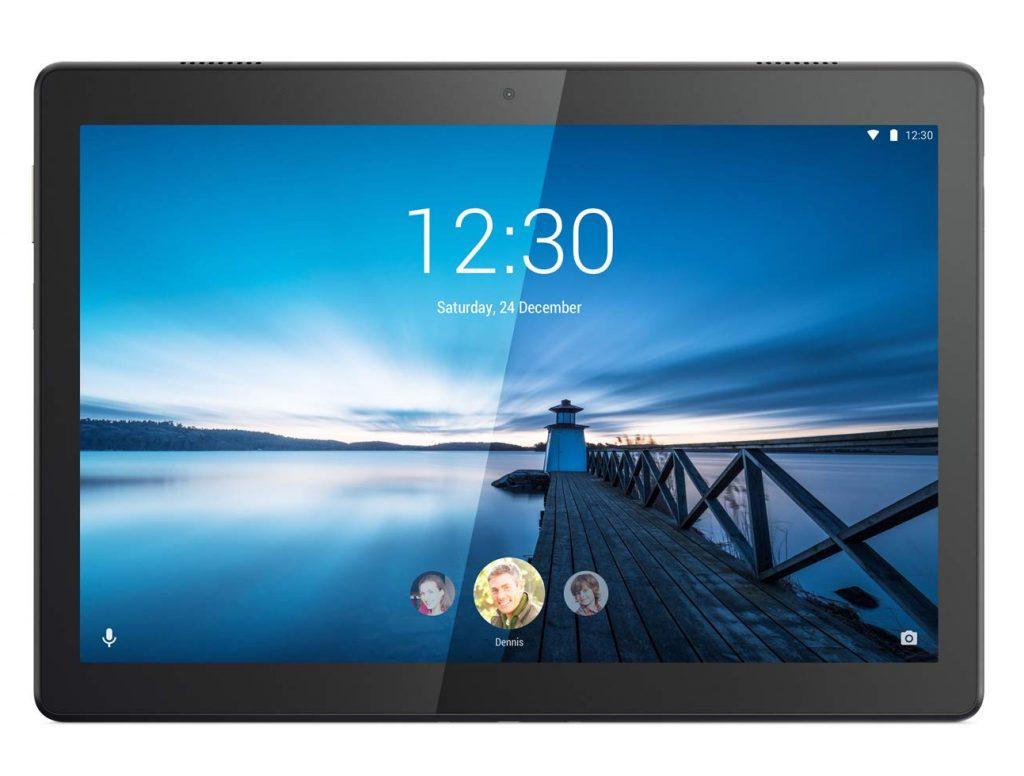 """Lenovo TAB M10 Tablet, Display 10,1"""" Full HD,Processore Qualcomm Snapdragon 450,Storage 32GB espandibile fino a 256GB,RAM 3GB,WIFI+LTE, Android Oreo,Slate Black"""