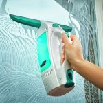 Leifheit 51001 Set Lavavetri Aspirante Dry & Clean CS, con Manico, 43 cm