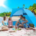 Tenda da Spiaggia Campeggio per 3 Persone