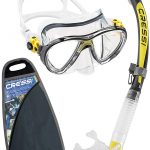 Cressi Big Eyes Evolution & Alpha Ultra Dry - Professional Combo Set per Immersioni e Snorkelling
