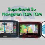 Scopri gli sconti sui Navigatori TomTom