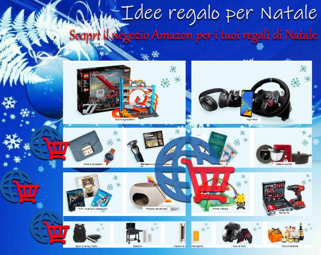 Idee regalo per Natale - Scopri il negozio Amazon per i tuoi regali di Natale
