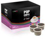 POP Caffè E-TUO Compatibili Fior Fiore, Lui Espresso e Mitaca Mps -100 caps