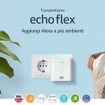 Echo Flex - Mini altoparlante intelligente con spina integrata e Alexa