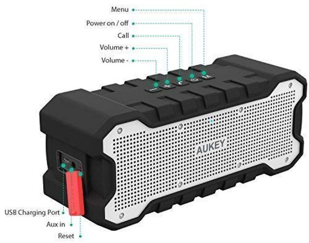 Cassa Bluetooth Waterproof