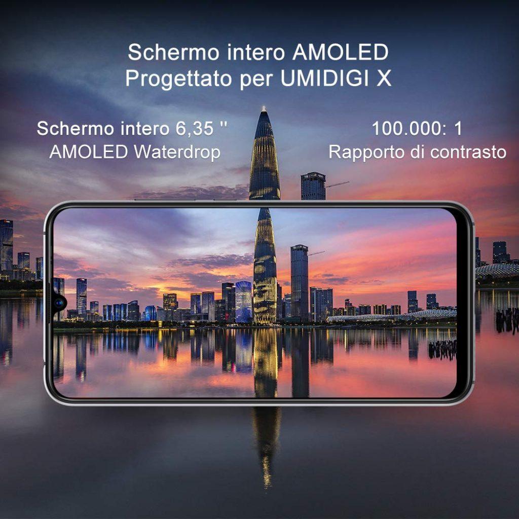 "UMIDIGI X Smartphone 6.35"""
