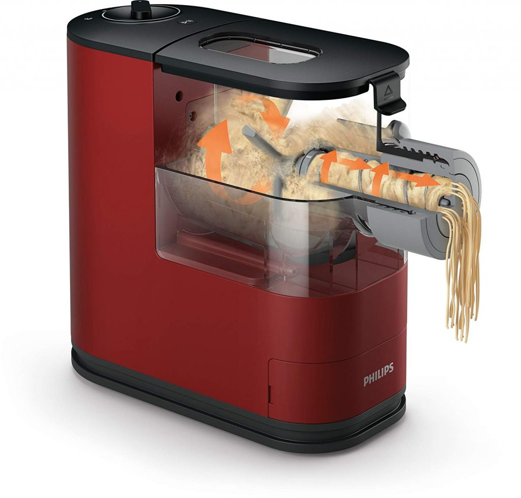 Philips Viva Collection Pastamaker - Rosso