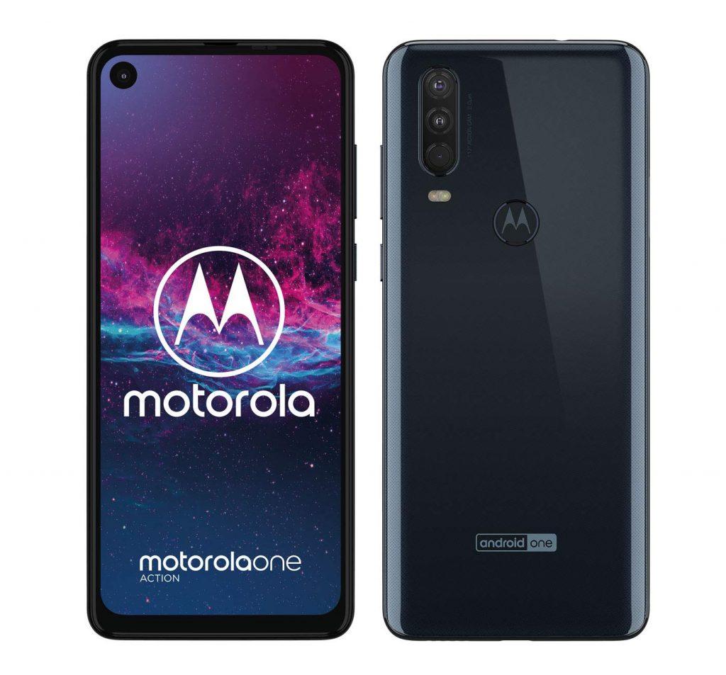 "Motorola One Action - Display CinemaVision 6.3"" FHD+"