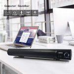 PC Soundbar Altoparlante 10W Stereo Hi-Fi