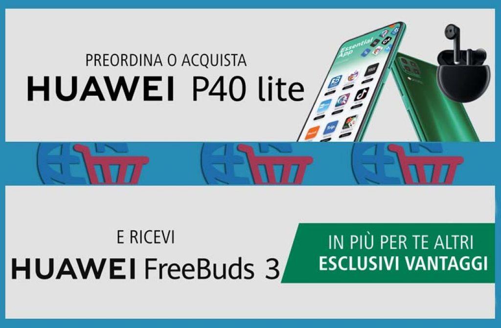Grande Promo: HUAWEI P40 lite + regalo Huawei Freebuds 3