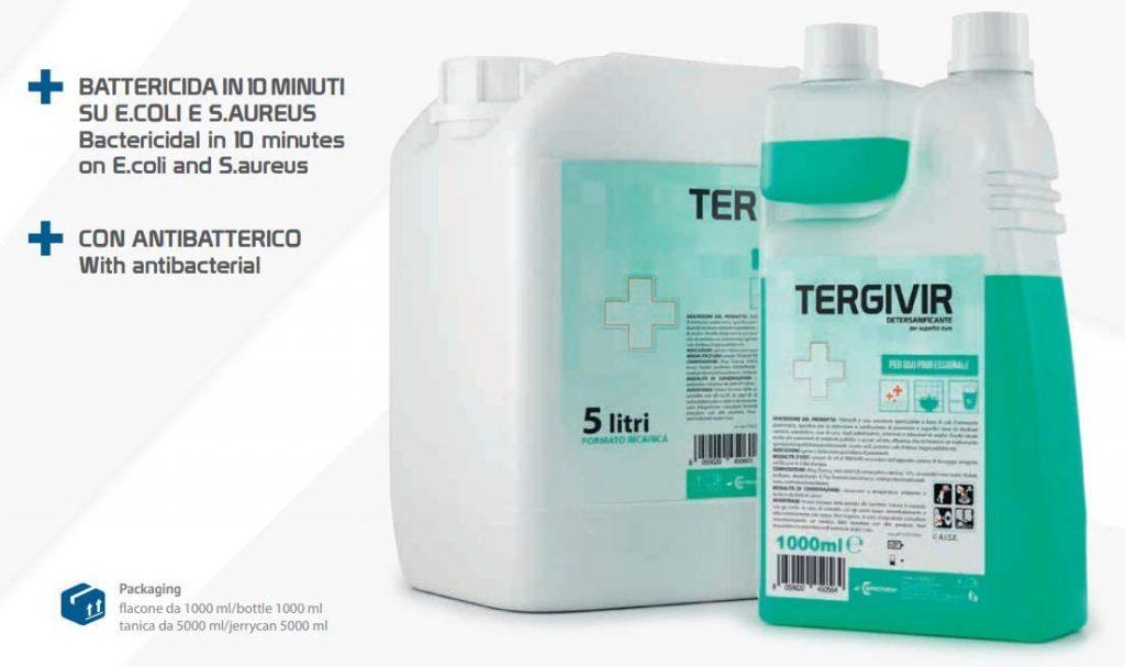Detersanificante virucida per pavimenti - Tanica 5lt