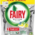 Fairy Platinum 70 Pastiglie Limone