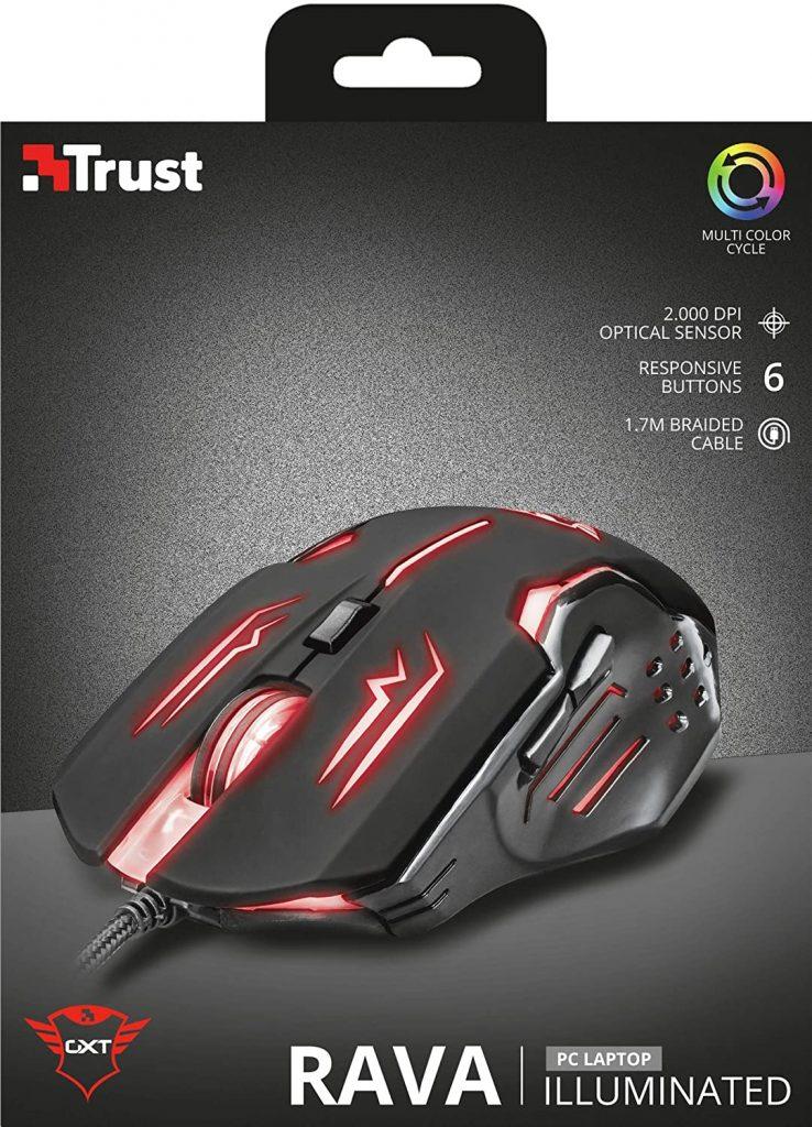 Trust Gxt 108 Rava Mouse da Gioco