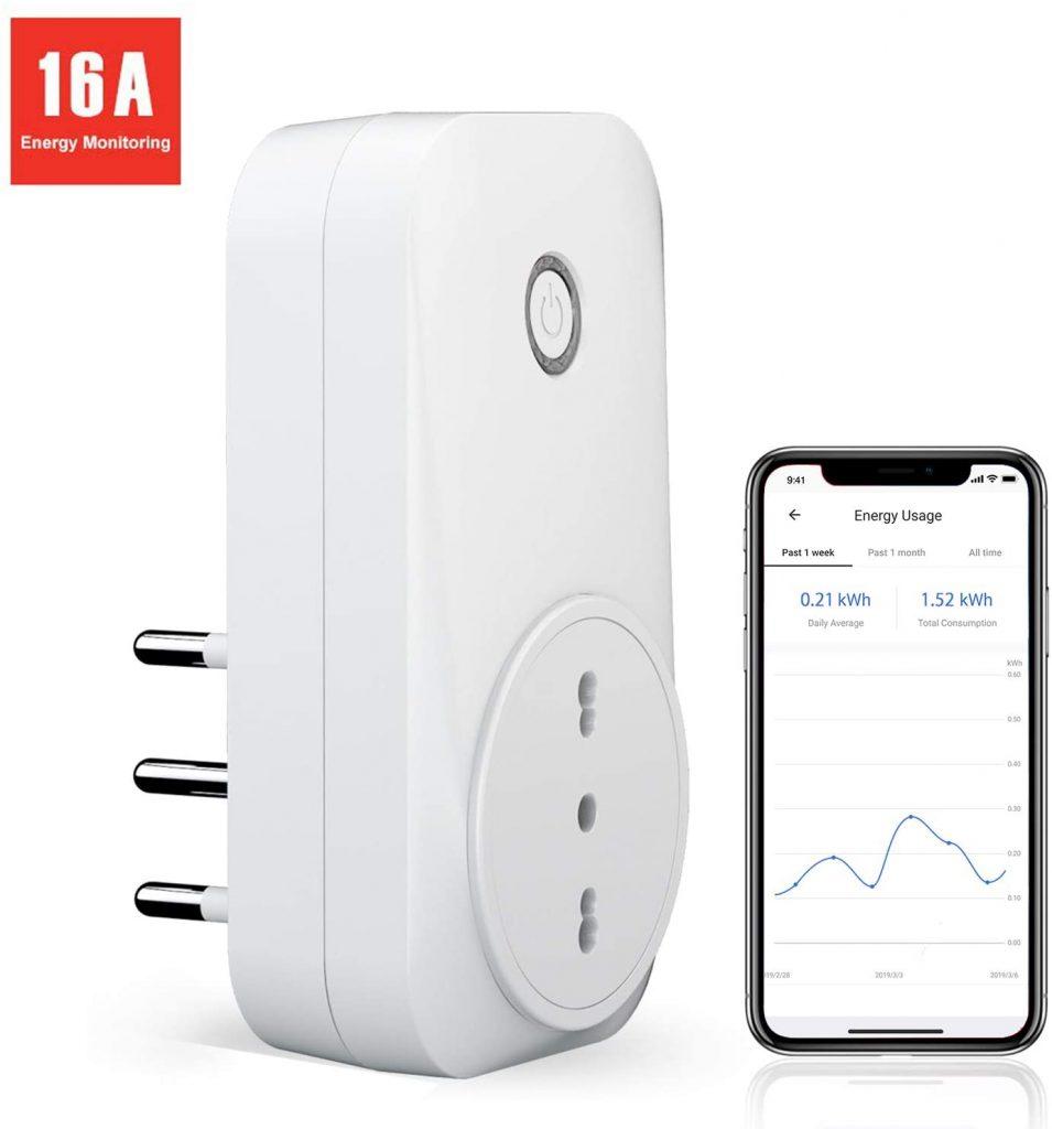 Presa Intelligente Wifi Italiana Smart Plug